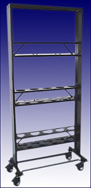 An Assembled Metabolic Cage Rack