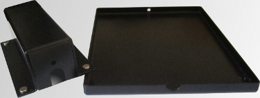 Mouse specimen tray: protects the animal, platform, and sensors for blood pressure measurements